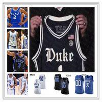 2021 Duke Basketball Jersey Blue Devils Tre Jones Cassius Stanley Matthew Tat Vernon Carey Jr. Moore Jr. Javin Delaurier Goldwire Jugend