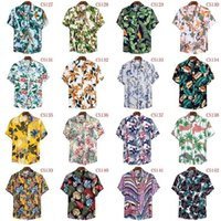FFXZSJ бренд мужской гавайское лето рубашка 2020 высокого качества хлопок рубашки с короткими рукавами лацкане рубашки Европейского плюса размера случайного Прин CX200618