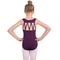 Girls M Straps Leotards for Children Competition Performance...