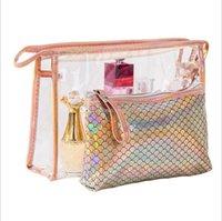 Donna sacchetti cosmetici di trucco attrezzi del Portable shipping dell'organizzatore di caso da toilette Vanità custodia da viaggio Box Accessori Product Supply DHL
