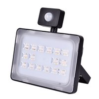 50W Светодиодный прожектор SMD Открытый лампы Mit Bewegungsmelder Теплый белый IP65 Square Garden Highway Светильник