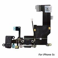 Charging Port Dock USB Connector Flex For iPhone 5s Headphone Audio Jack Microphone Flex cable