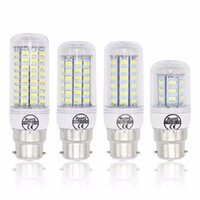 Lampada B22 Ampoules LED 240v 220v 7W 12W 15W 20W Ampoule 72x SMD 5730 30W froid blanc chaud Spot LED lampe