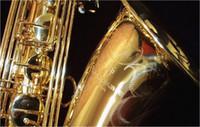 Profesyonel Sax Japonya Yanagisawa LOGO T-902 Bb Tenor Yüksek Kalite Saksafon Pirinç Altın kaplama B Düz Müzik Enstrüman ile Vaka Ağızlık