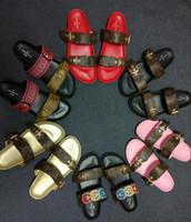 ff809692a380 Wholesale beach walk slippers online - Fashion Classic Europe Luxury Brand  Mens Casual Air Beach Slide
