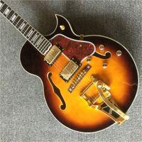 شحن مجاني جديد نمط f جوف جاز الجاز غيتار كهربائي، أمة الله جاز غيتار. الآلات الموسيقية Guitarra.Real الصور