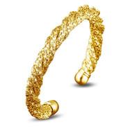 Специального Twist дизайнер ювелирных изделия браслета Серебро Золото Цвет манжета Открытые браслеты браслеты для женщин Свадебного подарка