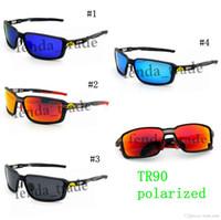 2018 brand new Top Óculos De Sol Esportes TR90 Polarized Marca Designer de Alta qualidade Óculos de Sol Equitação UV400 para Mulheres Dos Homens