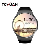 TKYUAN KW18 1. 3 inch Round Dial Smart watch Phone MTK2502 IP...