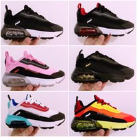 2020 Spring Autumn Children Shoes Pink Red Black Breathable ...