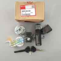 Yemoto Echtes Motorrad Zündschalter Kraftstoffschloss Set für Honda Blei 110 NHX110 2008-2015 Originalteile