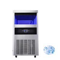 fabricar gelo Praça Qihang_top Commercial fabricante de Ice Cube Eléctrico Máquina de gelo Ar fresco para o café / leite de armazenamento 28 kg loja de chá