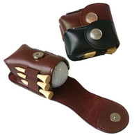 Couro Golf Ball Bola Suporte Clipe Pequeno Cintura Pacote Bolsa De Utilidade Esportes Acessórios de Treinamento de Golfe com Bola Tees Ferramenta Divot