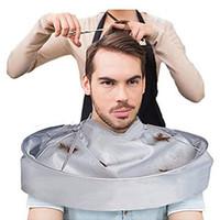 Haarschnitt Werkzeuge Faltbare Haarschneideumhang Barber Nylontuch Home Salon Haarschneider Trimmen Abdeckung Erwachsene Haarschneiderumhang DH0893