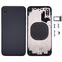 Full Back Housing for IPhone X iPhone 8 & 8 Plus Middle Fram...