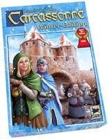 Carcassonne: Adultos Cartão edição de inverno jogo de crianças Jogo de Tabuleiro