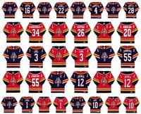 Vintage Florida Panthers Jerseys 1 Roberto Luongo 10 Pavel Bure 34 John Vanbiesbrouck 26 Ray Sheppard 20 Brian Skrudland CCM Retro Hockey