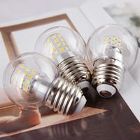 Üç Renk Dönüşüm G14 LED Küre Ampul 5 W 6000 K 4000 K 3000 K E27 Vida Baz Dekoratif Edison Ampul