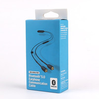 2019 RMCE-BT2 Bluetooth Cell Phone Cables Version 2 5.0 Earphone Cables Wireless Communication Cable In Ear Cables DHL