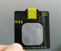 For iPhone 11 Pro Max Back Camera Lens 3D 9H Tempered Glass ...