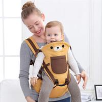 Porte-bébés 0-36m Sacs à dos de nouveau-né Portable Baby Sling Wraps Hipseat Mom papa Ergonomique Bonding Court Accessoires
