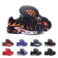 Discount Chaussure TN Plus Running Shoes For Men Outdoor Tri...