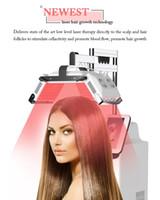 Topquality fábrica máquina de crescimento do cabelo tratamento da perda de cabelo rebrota diodo laser mais novo preço de promoção anti