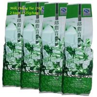 Promotion lait Thé Oolong 250g de haute qualité Tikuanyin thé vert chinois Taiwan Jin Xuan Tieguanyin lait Oolong soins de santé Thé vert alimentaire