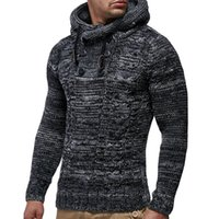2019 Men Sweater Autumn Winter Pullovers Knitted Cardigan Co...
