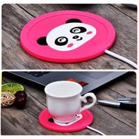 Чашку Pad грелки подогревателя USB шаржа силикона Нагреватель для молока Чай Кружка кофе горячие напитки Кубок Мат