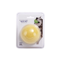 1PCS Dog Toys Dog Bite Resistant Solid Ball Bouncing Ball Pe...