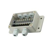 IP66 للماء مفرق الكهربائية صندوق الكابل الغدد 132x69x50mm
