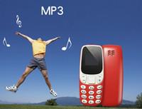 L8star BM10 sem fio Bluetooth Dialer Mini telefone BM10 com fones de ouvido Mão-livre Headsets VS BM70 BM50 LLFA