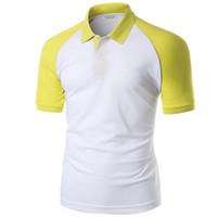اللون Pallened تجارية (سابقا) قميص رجالي مصمم التلبيب عنق قصير الأكمام خمر قمم الرجال عادية تيز عارضة الازياء البحتة