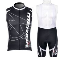 2019 Merida Pro 남성 팀 사이클링 민소매 저지 조끼 세트 여름 퀵 드라이 사이클링 옷 민소매 도로 자전거 탑스 K061203