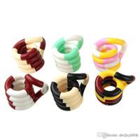 Arco-íris torcido corda magia fiddle adulto anti anti stress sensor de mão sensory edc decompressão brinquedo para crianças autismo treinamento de dedo novidade brinquedos