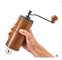 2020 venda quente máquina de café criativa Cafeteiras Household mão moedor de grãos manual de espessura ajustável