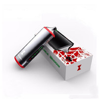 Authentische Kingtons Black Widow Kit Integrierte 2200mAh Batterie Trockenkräuter Verdampfer 3 in 1 Vape Pen Ecigarette Kits Kräuterkiste Mod Kit