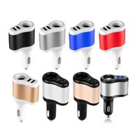Çift USB 3.1A Çakmak Oto Güç Adaptörü Chargers iPhone Samsung GPS için