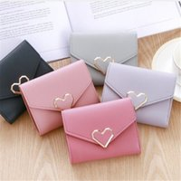 2018 Hot Sale Korean Small Fresh Short Wallet For Women Fash...