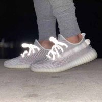 New Glow In The Dark Scarpe da corsa Antlia Synth Lundmark True Form Statico riflettente Hyperspace Clay Kanye West Sneakers Sports Trainer