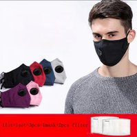Reusable PM 2. 5 Cotton Face mask Cover Activated Carbon With...