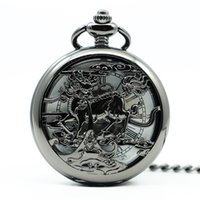 2019 Luxury Vintage Mechanical Pocket Watch Fashion Mytholog...
