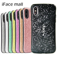 Slim Case iFace Mosaic Heavy Duty antichocs pour iPhone 6 7 8 Plus Xs Xr Xs Max 11 11 Pro 11 Pro Max