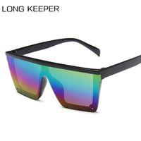 Big-Platz für Kinder Sonnenbrille Baby-Mädchen-Maxi-Punk Sonnenbrillen Kinder kühlen Brillen Shades UV400 Oculos de sol