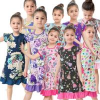 ac33481e5a3b7 Satın Al 2019'da Avrupa Ve Amerika Için Yeni Modeller Çiçekli Elbise ...