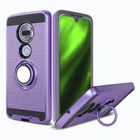 Para LG K40 Stylo 5 G8 Anillo 3D V50 360 grados pata de cabra TPU PC 2 en 1 caja del teléfono de la más nueva