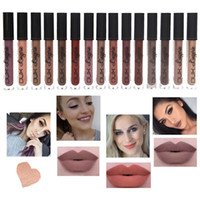 New 15 colors Nyxed lipstick liquid matte lip gloss waterpro...