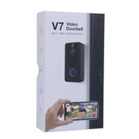 EKEN V7 HD 1080P Smart Home Soorbell Caméra WiFi WiFi Téléphone en temps réel Vidéo Vidéo Storage Vision Night Vision PIR Détection de mouvement