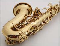 MARGEWATE Kavisli Soprano Saksafon S-991 B Düz Altın Vernik Popüler aletler Müzik ile Vaka Ücretsiz Kargo